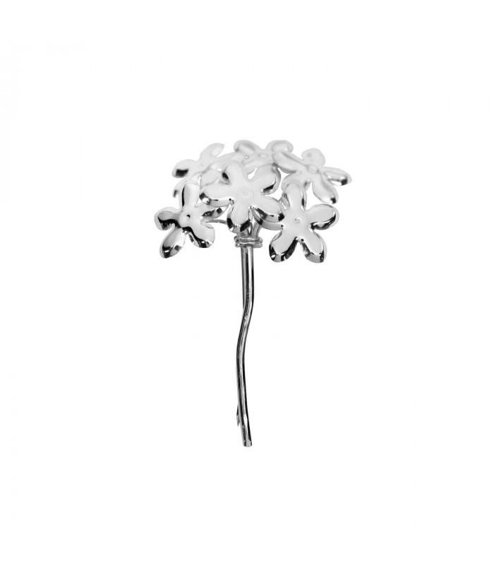 Biznaga silver brooch