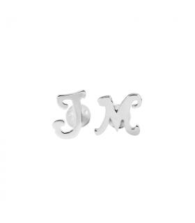 Gemelos iniciales plata