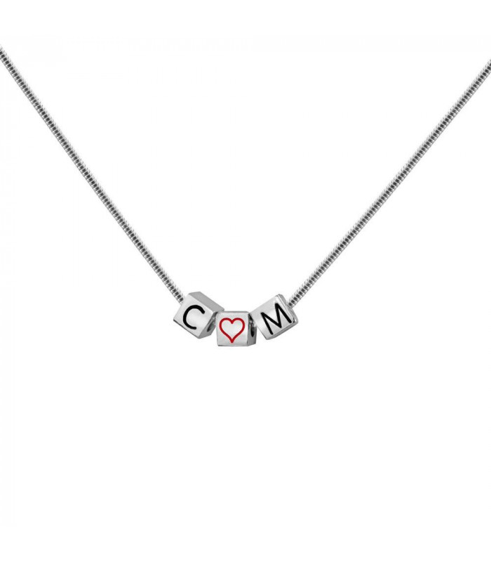 Personalized choker with initials