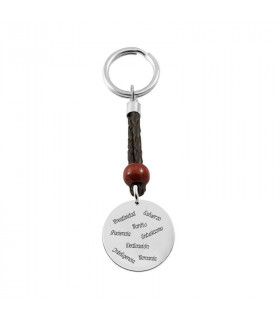 Keychain with names