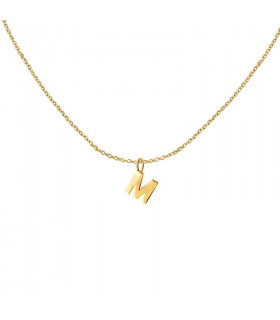 Initial chain 6mm gold