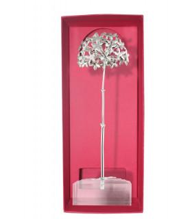 Biznaga jasmine trophy in silver