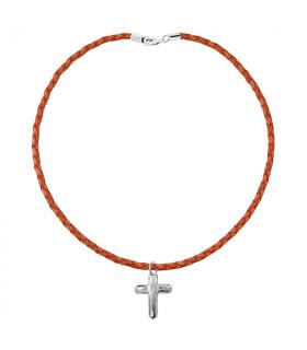 Cross pendant. Communion gift.
