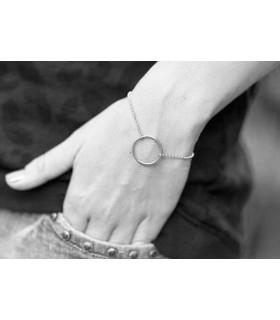 Diabolo women's circle bracelet