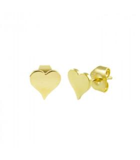Pendientes Gold corazón
