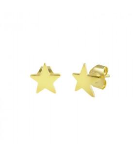 Pendientes Gold estrella