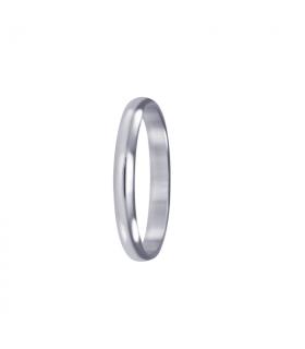Finite wedding ring white gold.