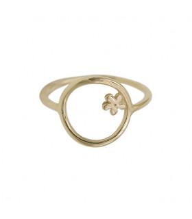 Jasmine circle ring