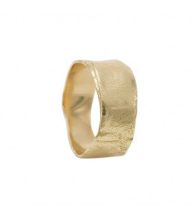 Gold wax ring
