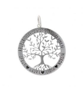 Colgante árbol de la vida nombres