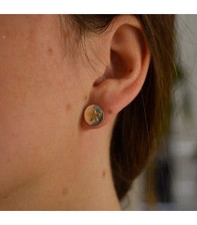 Jasmine gold earring
