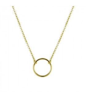 Necklace Diabolo plated gold