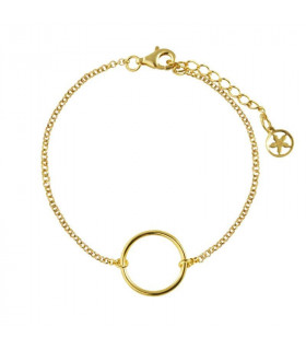 Bracelet Diabolo gold plated