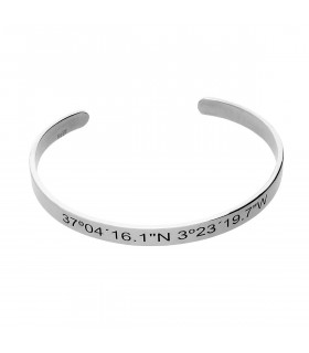 Coordinate bracelet