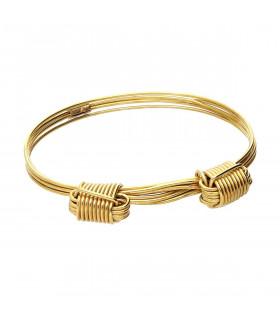 Brass Bracelet Knots