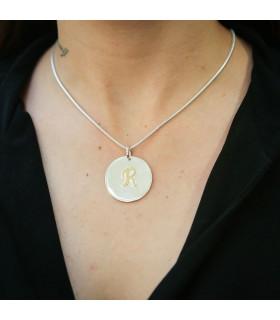 Jasmine rugged pendant