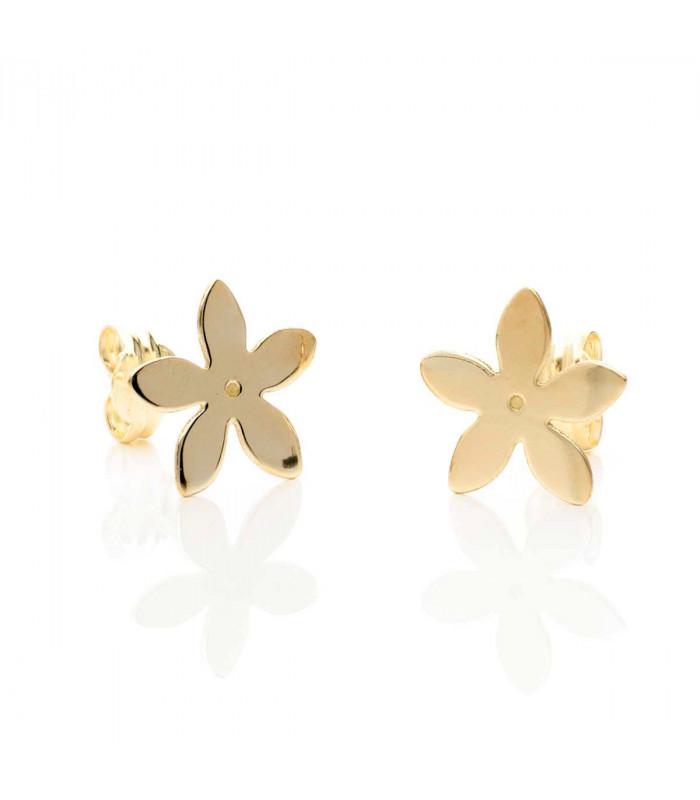 Gold Jasmine earrings