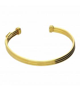 Golden torculo bracelet