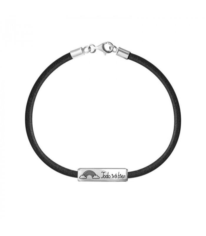 Rainbow men's bracelet