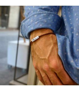 Personalized rainbow bracelet