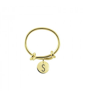 Initial knot ring S