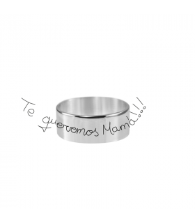 Personalized ring we love you mom