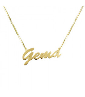 Golden Name Choker