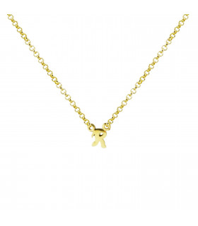 Initial Personalized Necklace R