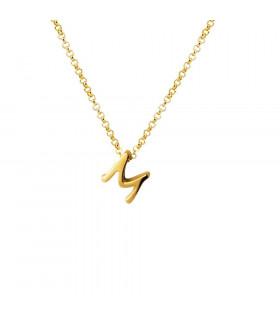 Collar inicial letra M