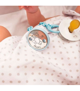 Personalized baby pacifier