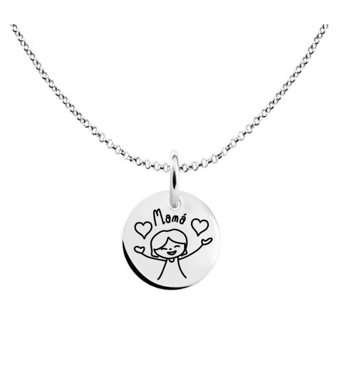 I love you mom pendant