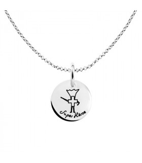 Silver super nurse pendant