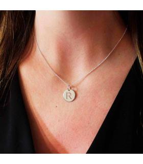 Openwork medal medal necklace