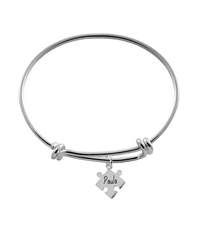 Custom puzzle bracelet