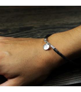 Custom leather bracelet for women