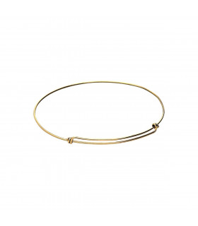Gold Knot Bracelet 1 mm