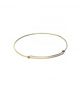 Pulsera de Nudos de Oro 1 mm