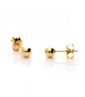 Ball earring 4 millimeters
