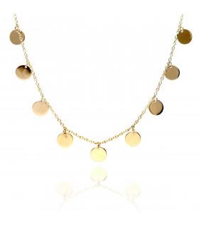 Collar Brigitte Medallas de Oro