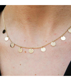 Brigitte Necklace Gold Medals
