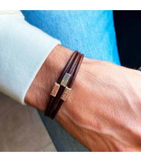 Leather bracelet names woman