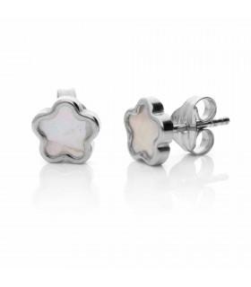 Nacre jasmine earring