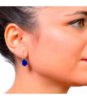 Golden calzedonia sweet earring