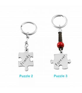 Custom puzzle keychains