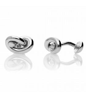 Men's knot cufflinks