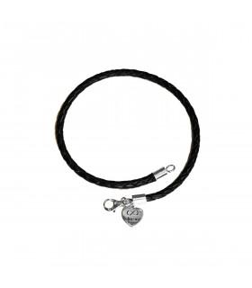 Personalized valentine heart bracelet