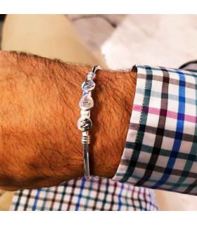 Personalized initial bracelet