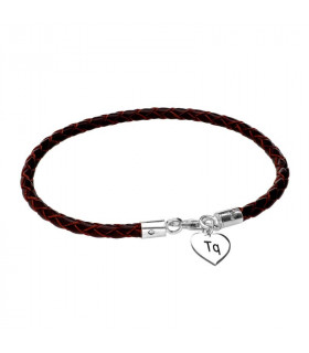 Valentine's day personalized heart bracelet