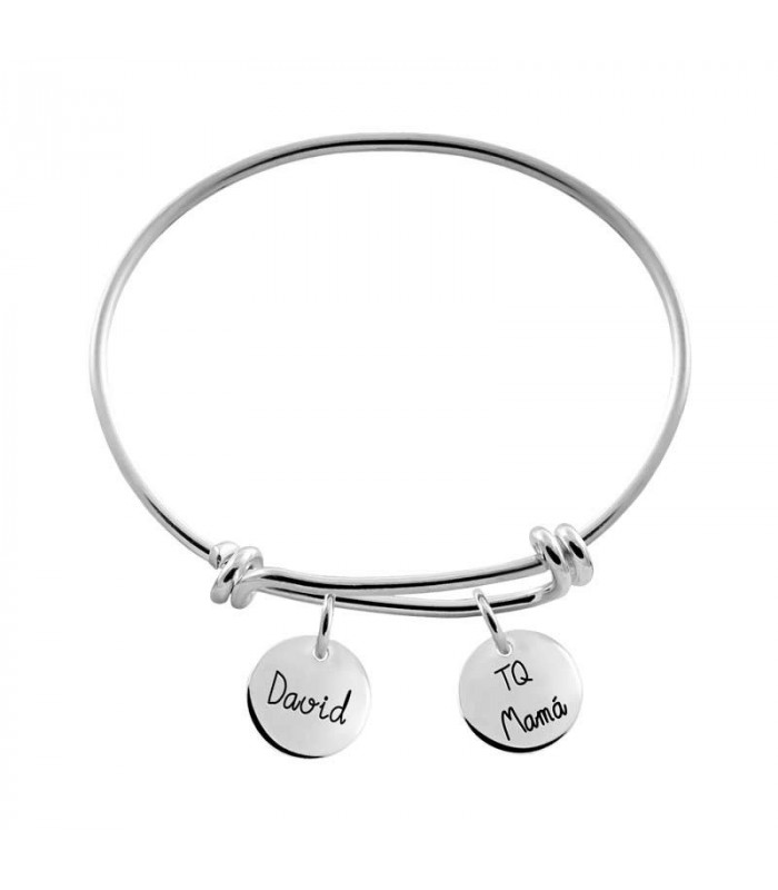 Personalized bracelet with names
