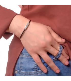 Coordinates bracelet woman